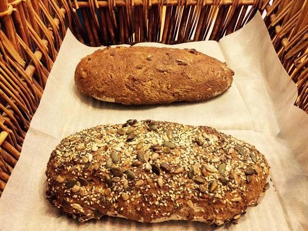 На фото – хлеб из обойной муки